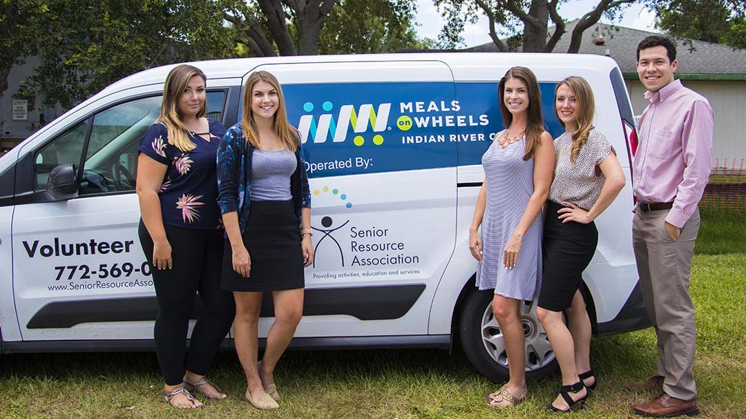 AMG Staff at Meals on Wheels