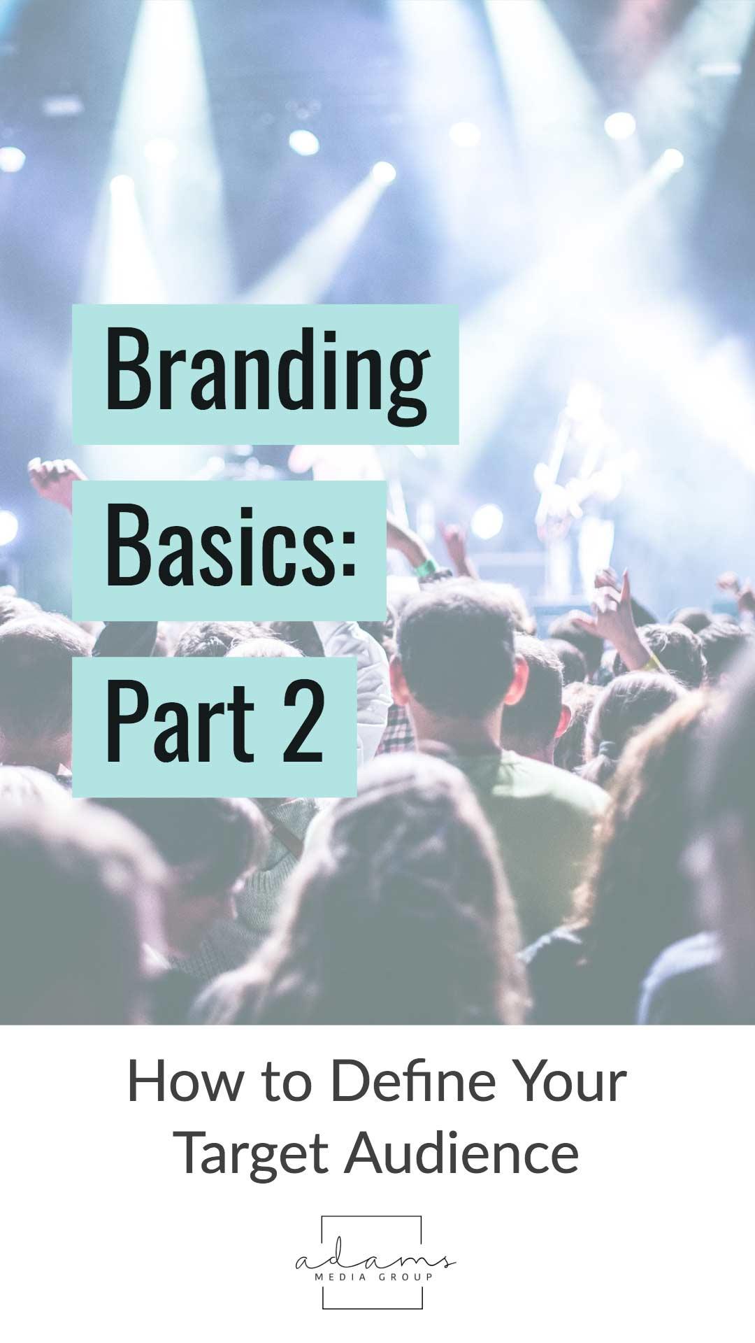 branding defining target audience